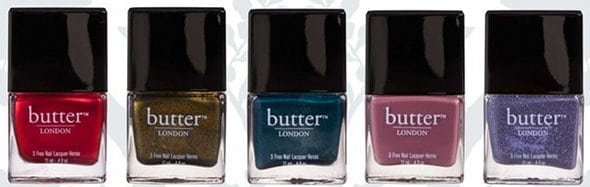 Butter London vernis automne 2011