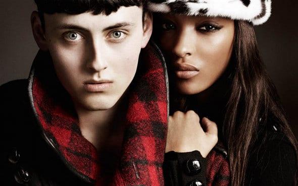 Campagne publicitaire Burberry automne hiver 2011