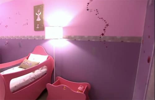 d co de princesse mauve et rose pour chambre de fille. Black Bedroom Furniture Sets. Home Design Ideas