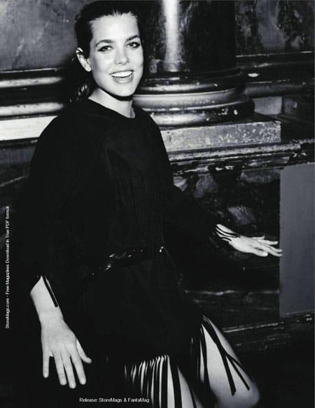 Charlotte Casiraghi Vogue Paris septembre 2011