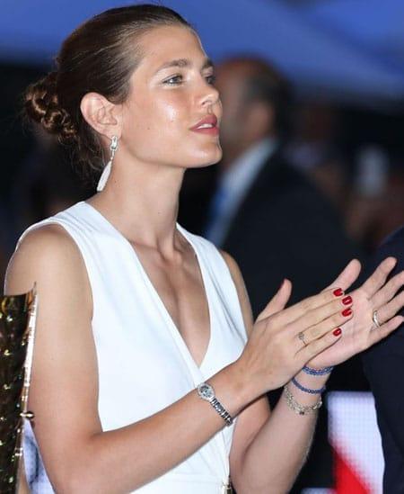 Charlotte Casiraghi superbe pour la fin du jumping de Monaco