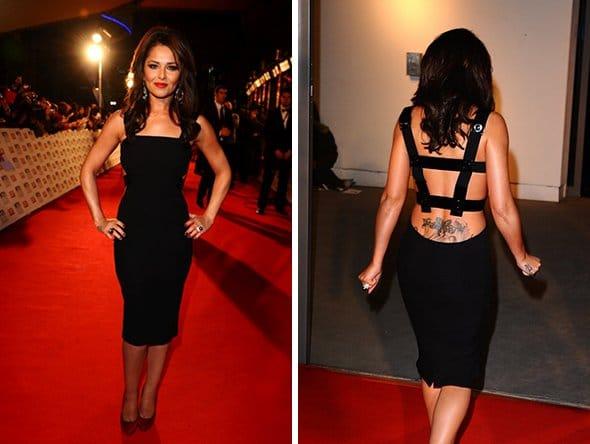 Cheryl Cole en robe Versace