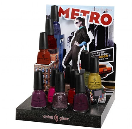 China Glaze Metro