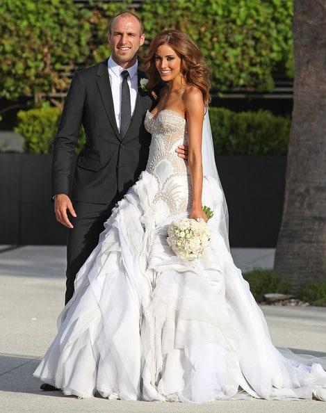 Chris Judd & Rebecca Twigley