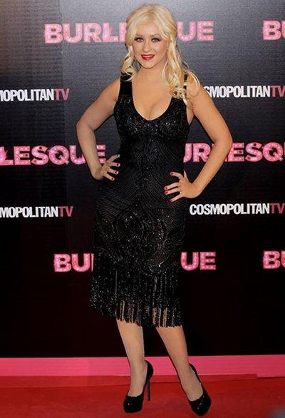 Christina Aguilera Burlesque