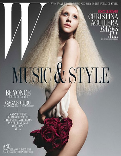 Christina-Aguilera W magazine juillet 2011