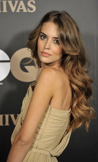 Clara Alonso cheveux wavy