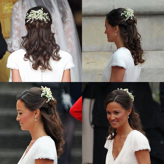 Je veux la coiffure de pippa middleton pour mon mariage - Coiffure de demoiselle d honneur ...