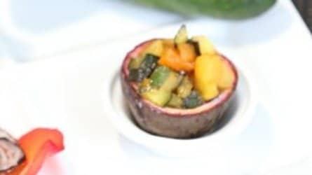 Méli-mélo de courgettes à l'ananas et fruits de la passion