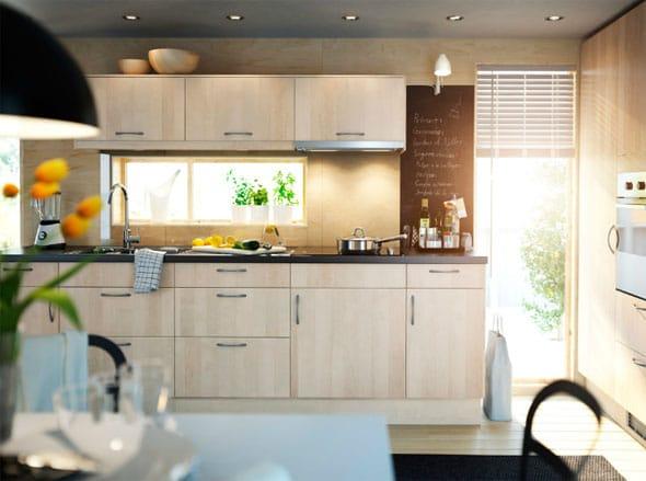 Les nouvelles cuisines ikea id es et inspirations for Cuisine marron et blanc