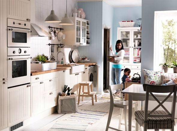 Les nouvelles cuisines ikea id es et inspirations for Petite cuisine originale