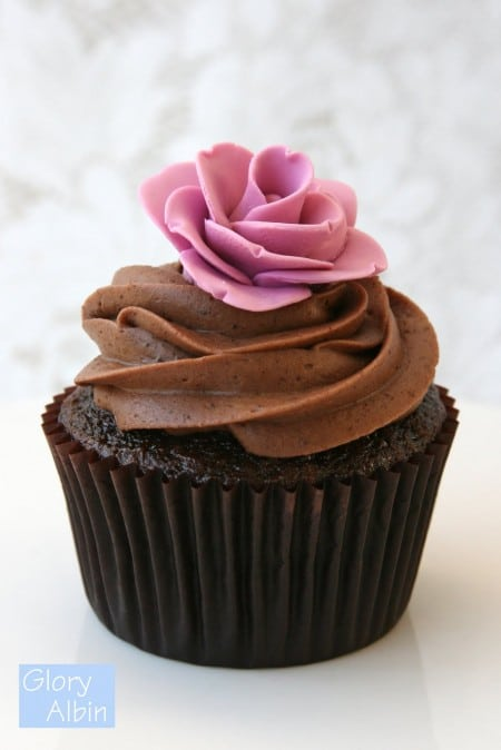 Cupcake-au-chocolat