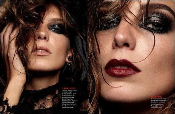 Daria werbowy serie noire Elle France