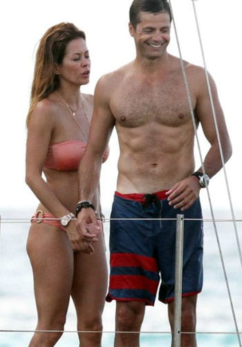 David Charvet et Brooke Burke