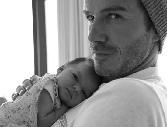 David et Harper Seven Beckham