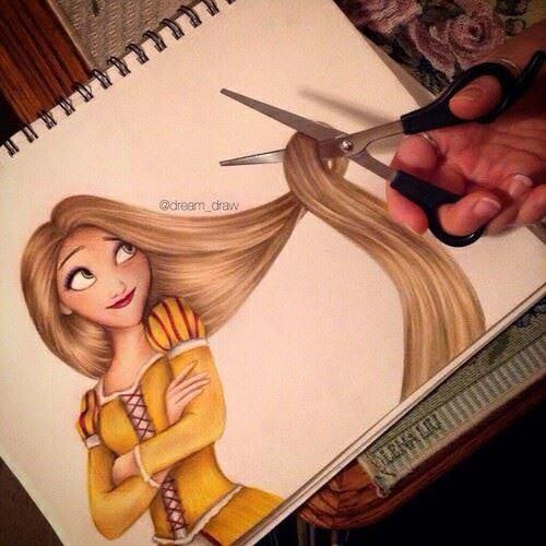 Des dessins de cheveux créatifs et incroyablement réalistes