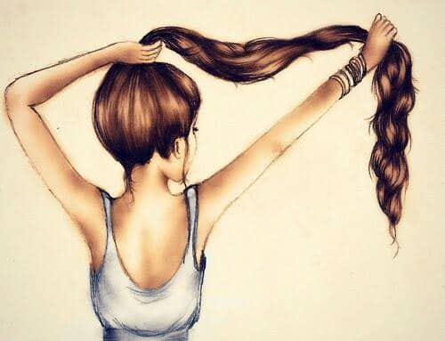 Dessins cheveux 3