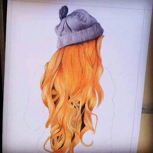 Dessins cheveux 5