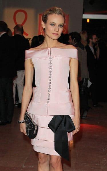 Diane Kruger en Chanel Couture au gala Sidaction