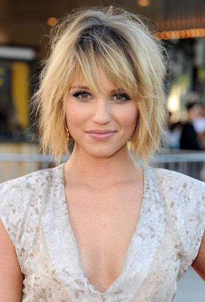 Short Hair Layered Bob Haircut
