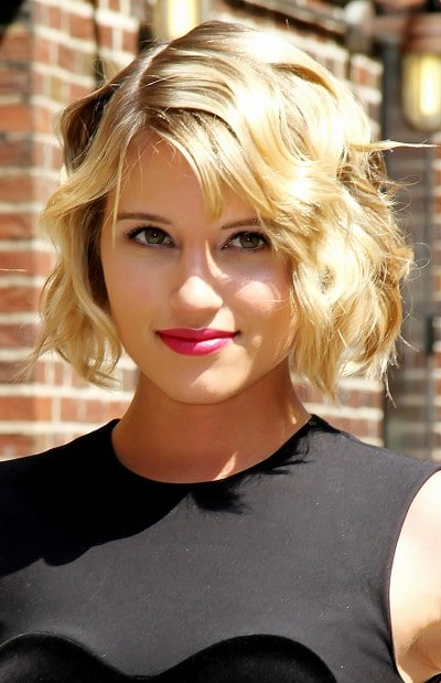 Le look pin up glamour de Dianna Agron
