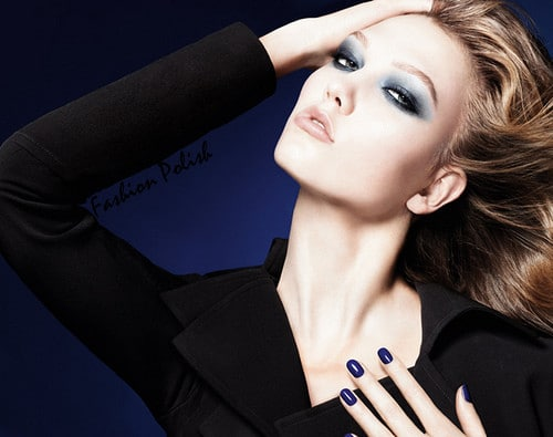 Dior Blue tie automne 2011