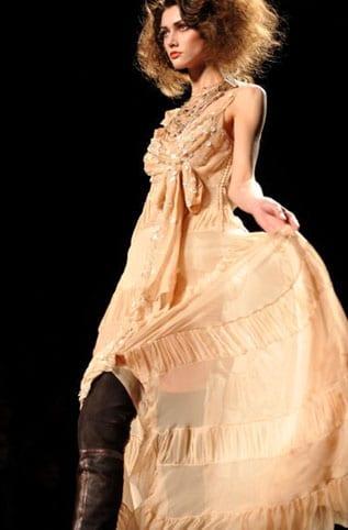Défilé Dior automne/hiver 2011