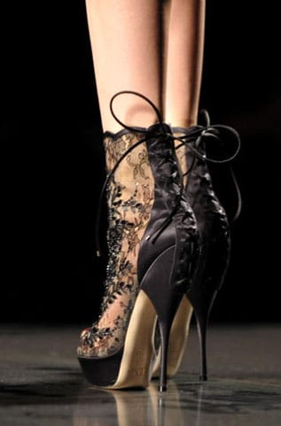chaussures Dior automne hiver 2011