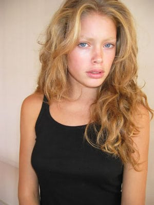 Doutzen Kroes sans maquillage