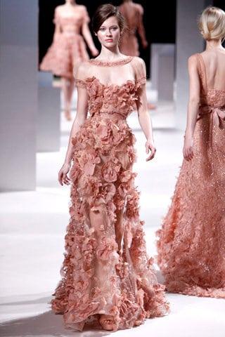Défilé Elie Saab Haute Couture printemps 2011