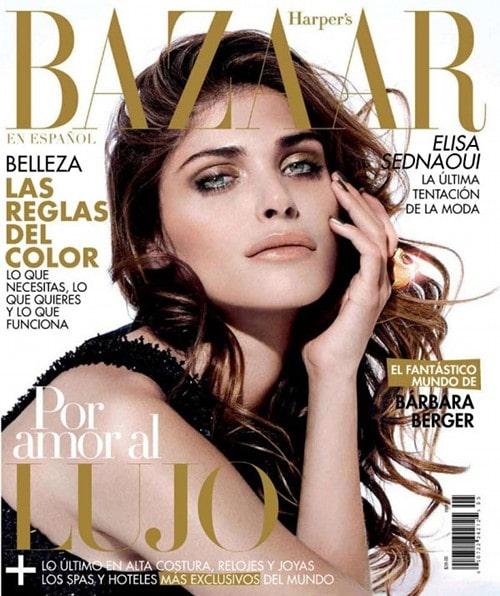 Elisa Sednaoui Harper's Bazaar