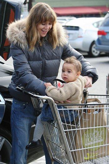 Ellen Pompeo en course avec sa fille Stella