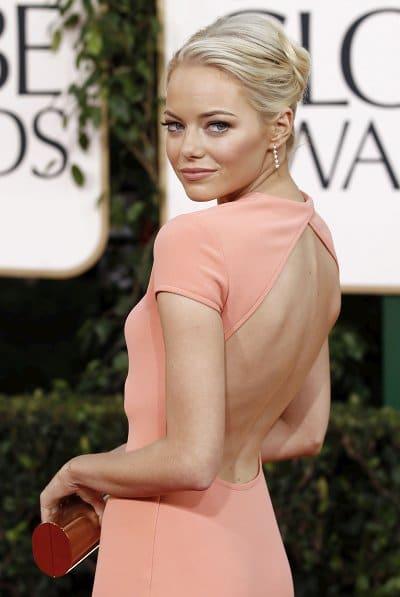 Emma-Stone Golden Globes 2011