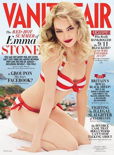 Emma Stone Vanity Fair 2011