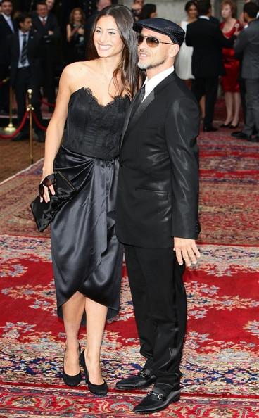 Eros Ramazzotti et Marica Pellegrini