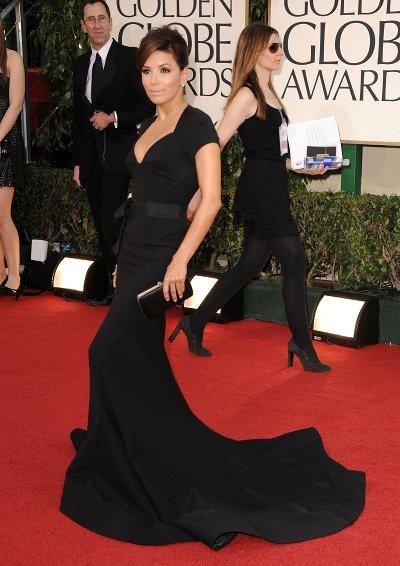 Eva Longoria Golden Globes Awards 2011