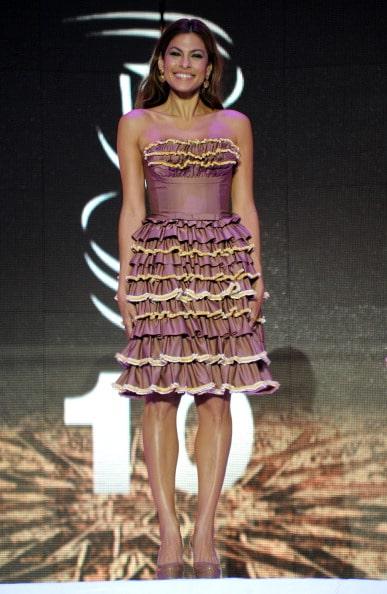 Eva Mendes robe Prada