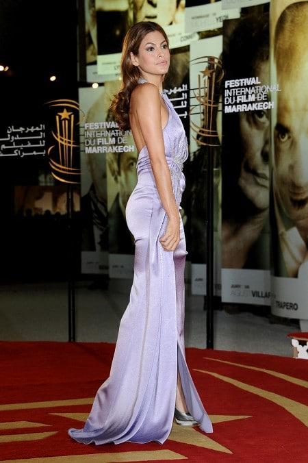 Eva Mendes au festival du film de Marrakech
