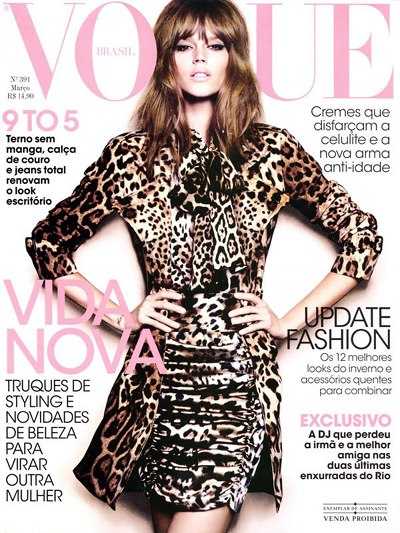 Freja Beha Vogue Brazil