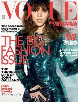 Freja Beha Vogue Septembre 2011