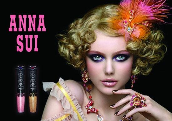 Frida Gustavson pour le maquillage Anna Sui