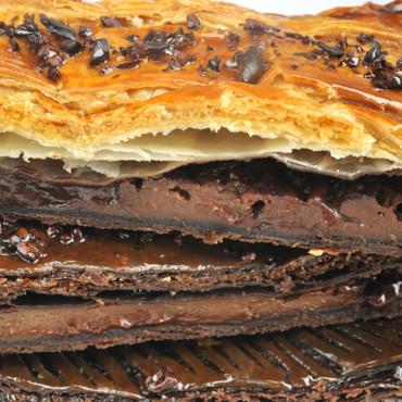 Galette des rois tout chocolat Christophe Roussel