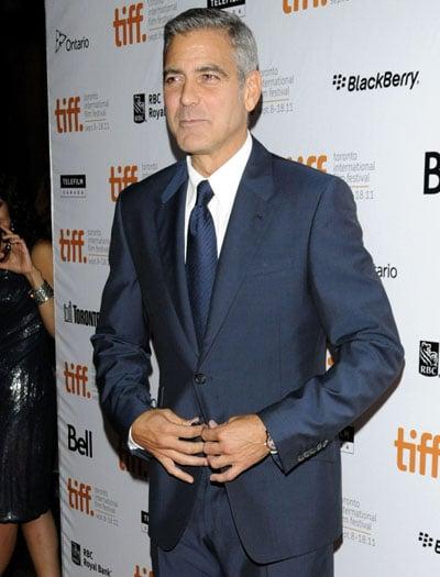 George Clooney présente sa nouvelle compagne Stacy Keibler à Toronto