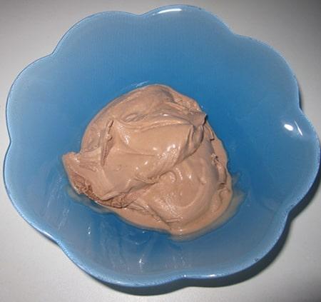 Recette de la glace au Nutella