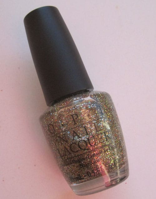 "Vernis ""Glow up already"" Burlesque OPI swatch, test, photos"
