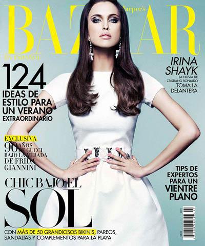 Irina Shayk Harper's Bazaar
