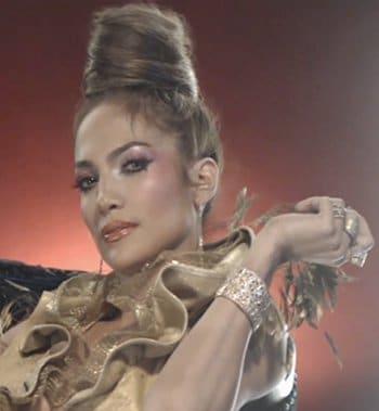 Jennifer Lopez On the floor