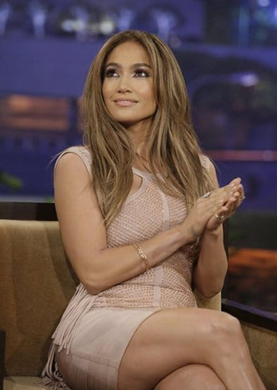 Jennifer Lopez Tonight show