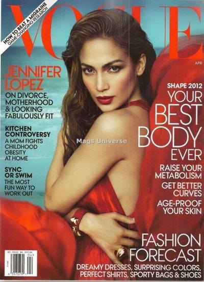 Jennifer Lopez sublime en couverture du Vogue US d'avril