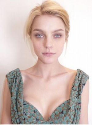 Jessica Stam sans maquillage